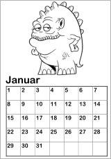 malvorlage geburtagskalender   coloring and malvorlagan