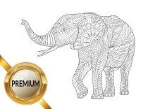 Malvorlagen Wildtiere Elefant Löwe Tiger Reh Lustige Ausmalbilder