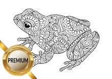 Malvorlagen Verschiedene Kleine Tiere Kröten Frösche Reptilien
