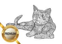 Malvorlagen Katzen