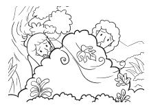 Malvorlagen Für Kinder Mit Szenen Aus Der Bibel