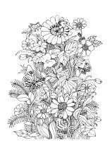 Malvorlagen Blumen Und Blüten Ausmalbilder Für Kinder