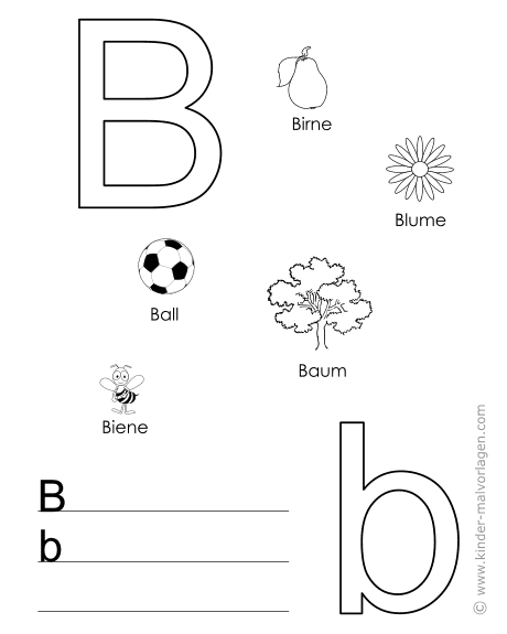 alphabet lernen buchstaben lernvorlagen. Black Bedroom Furniture Sets. Home Design Ideas
