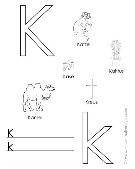 Arbeitsblatt Buchstabe J : Alphabet lernen buchstaben lernvorlagen