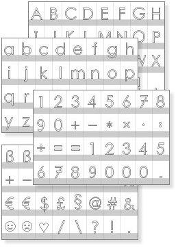 Buchstabenkarten Ausdrucken Lesen Und Schreiben Lernen