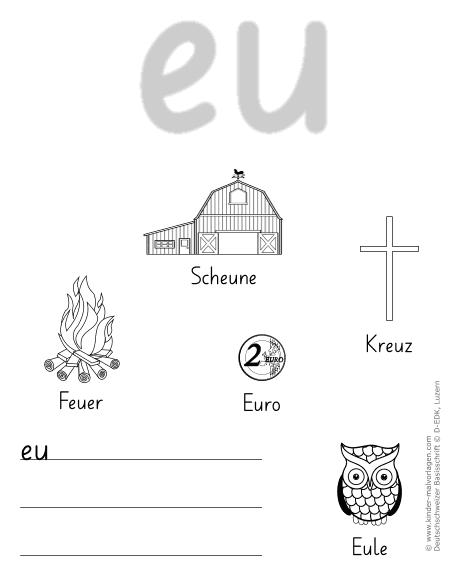 deutschschweizer basisschrift arbeitsbl228tter