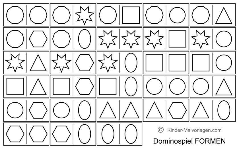 Domino Spiel Ausdrucken Vorlagen