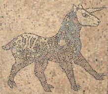 Ausmalbild einhorn fabelwesen einh rner unicorn for Mosaik vorlagen zum ausdrucken
