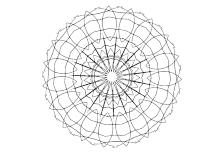 runde symmetrische figur
