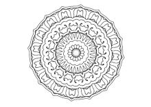 Mandala Ausmalbilder Vorlagen Ausmalen
