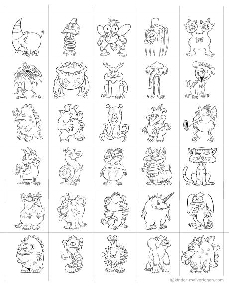 Memo-Spiel ausdrucken Memokarten