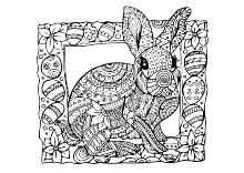 Ausmalbilder Ostern Osterhase Ostereier - Kinder Malvorlagen