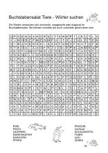 buchstabengitter pdf erwachsene - suchsel worter suchen buchstabensalat pdf vorlagen / sie sind