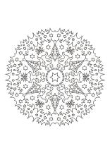 weihnachtsmandala ausdrucken ausmalen