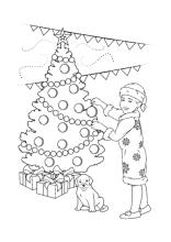 weihnachtskerze zum ausmalen - malvorlagen gratis