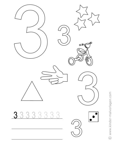 Arbeitsblatt Zahl Wattpad : Zahlen lernen zählen Übungsblätter ausdrucken