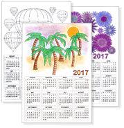 kostenlose kalendervorlagen kinderkalender alle jahre online ausdrucken basteln. Black Bedroom Furniture Sets. Home Design Ideas